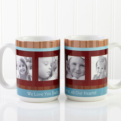 Personalized Large Photo Coffee..