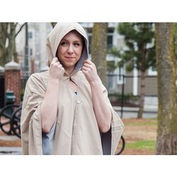 RAINRAPS: Hooded Waterproof Wrap &..