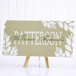 Personalized Canvas Art - Bless..