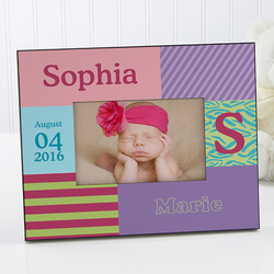 Baby Girl Personalized Picture..