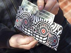 Paperwallet: Tyvek Wallets