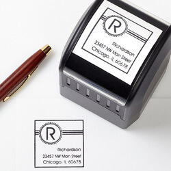 Personalized Address Stamp -..