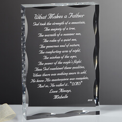 Personalized Gift Sculpture With..