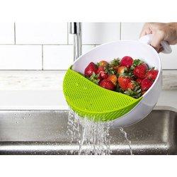Soak And Strain: Produce Washing..