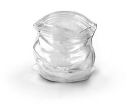 Hand-Blown Unzipped Bag Bowl