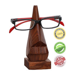 Rosewood Eye Glass Holder