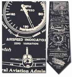 Principles Of Flight Silk Tie